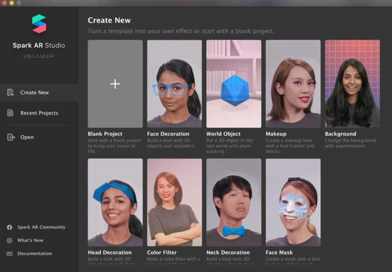 Spark AR Studioをエフェクト開発