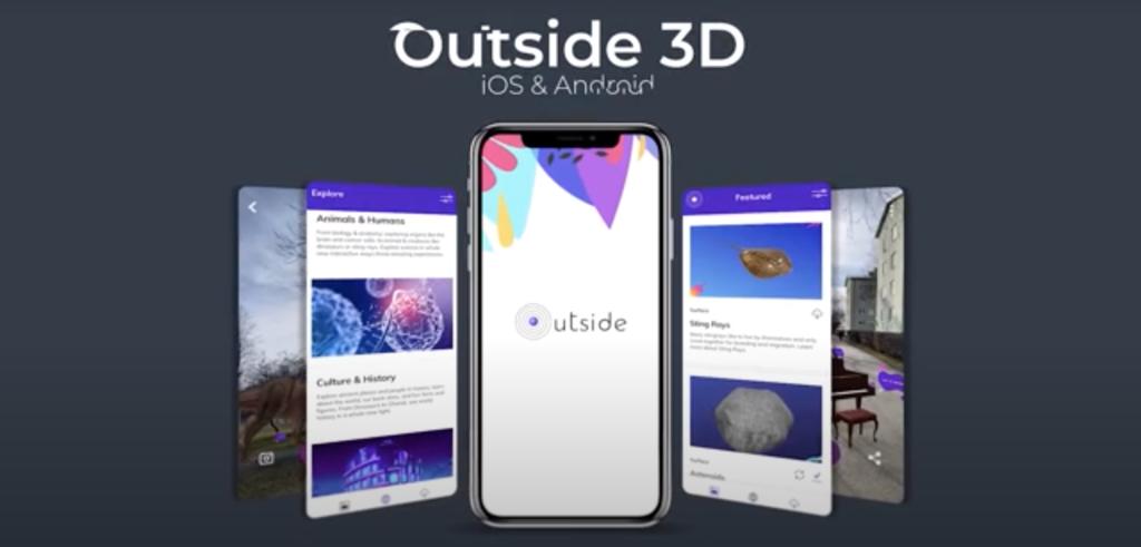 Outside 3Dのアプリ