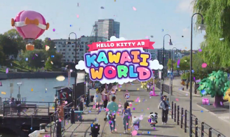Hello Kitty AR: Kawaii World