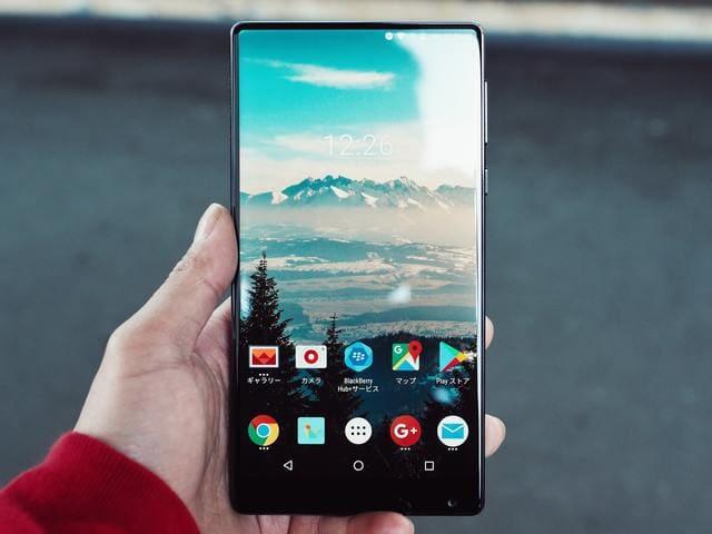Androidのスマートフォンとタブレット