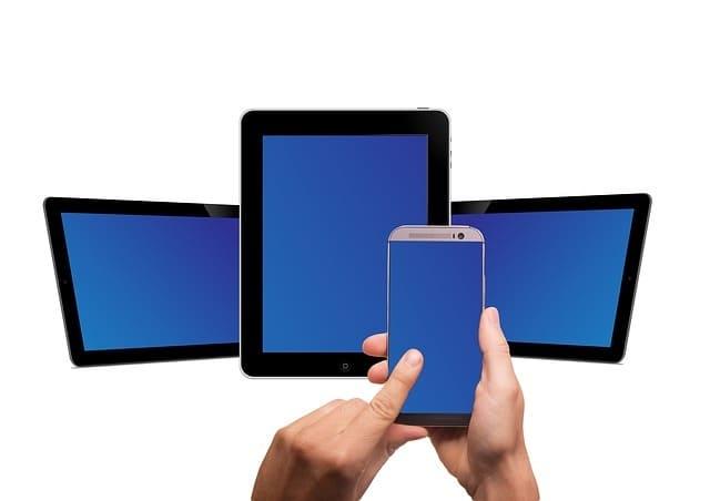 スマートフォンとタブレット