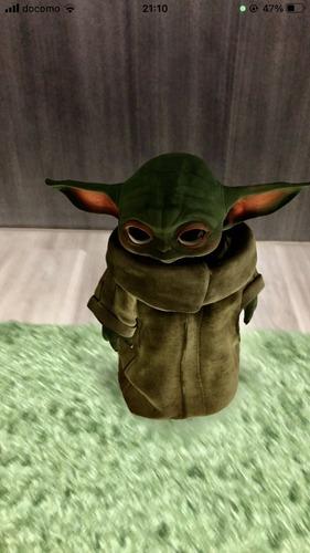 Google検索でスターウォーズのベビーヨーダ(Baby Yoda)がARで出現!さっそく試してみた